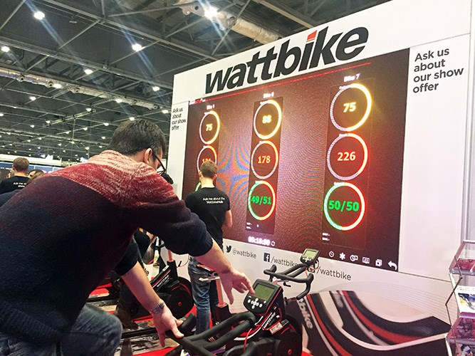 Book a Wattbike Studio for private lessons in Annan