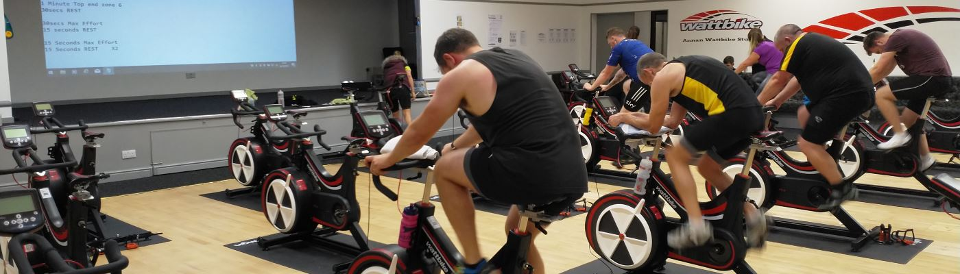Wattbike Gym and Studio Classes in Annan, Scotland