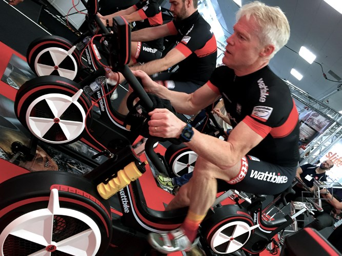 Wattbike Gym in Annan, Scotland